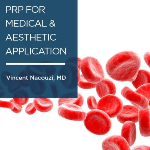 A special message from Vince Nacouzi, MD on PRP